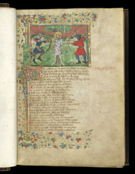 St. Edmund Being Shot With Arrows, In John Lydgate's 'Lives Of Sts. Edmund And Fremund' And Other Middle English Texts